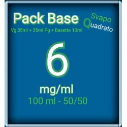 PACK BASE NEUTRA 50VG/50PG...