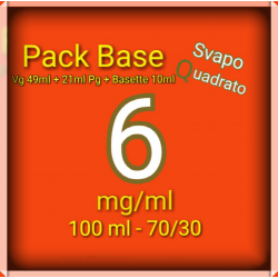 PACK BASE NEUTRA 70VG/30PG...