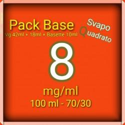PACK BASE NEUTRA 70VG/30PG...