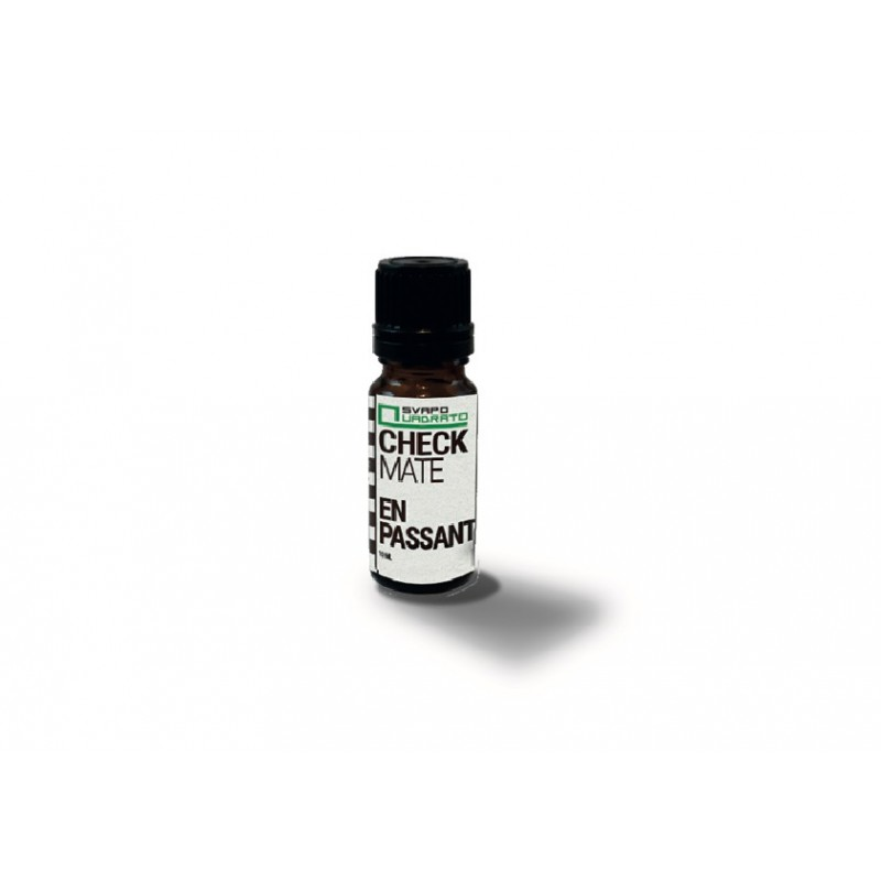 AROMA MACERATO CHECK MATE EN PASSANT SVAPO QUADRATO 10 ML 2rshop.it svapo