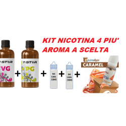 KIT 100ML/4MG PIU' AROMA ENJUICE DEPO 2rshop.it svapo