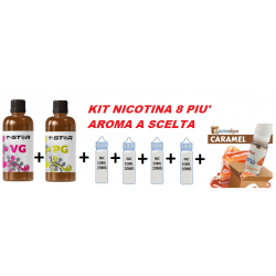 KIT 100ML/8MG PIU' AROMA EJUICE DEPO 2rshop.it svapo