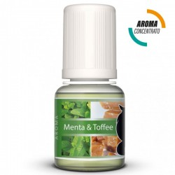 MENTA E TOFFEE - AROMA CONCENTRATO - LOP 10 ML 2rshop.it svapo