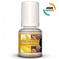 BANANA E NOCI - AROMA CONCENTRATO - LOP 10 ML 2rshop.it svapo