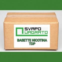 KIT NICOTINA - BASETTE 10 ML SVAPO QUADRATO 2rshop.it svapo