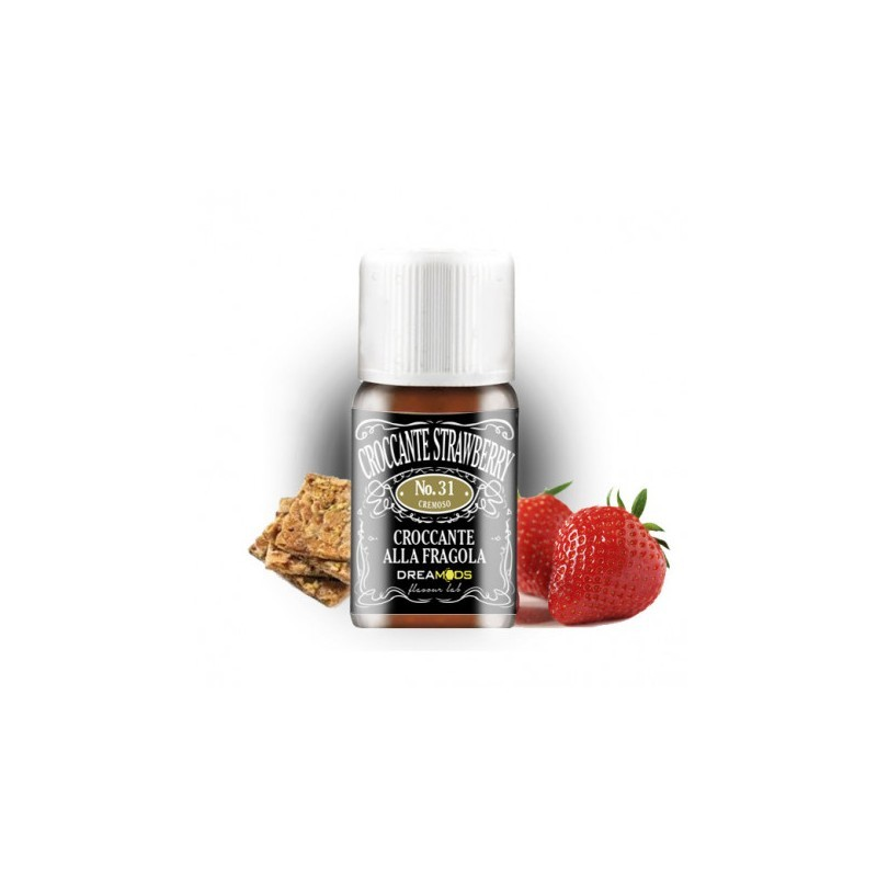 AROMA DREAMODS 31 CROCCANTE STRAWBERRY 10 ML 2rshop.it svapo