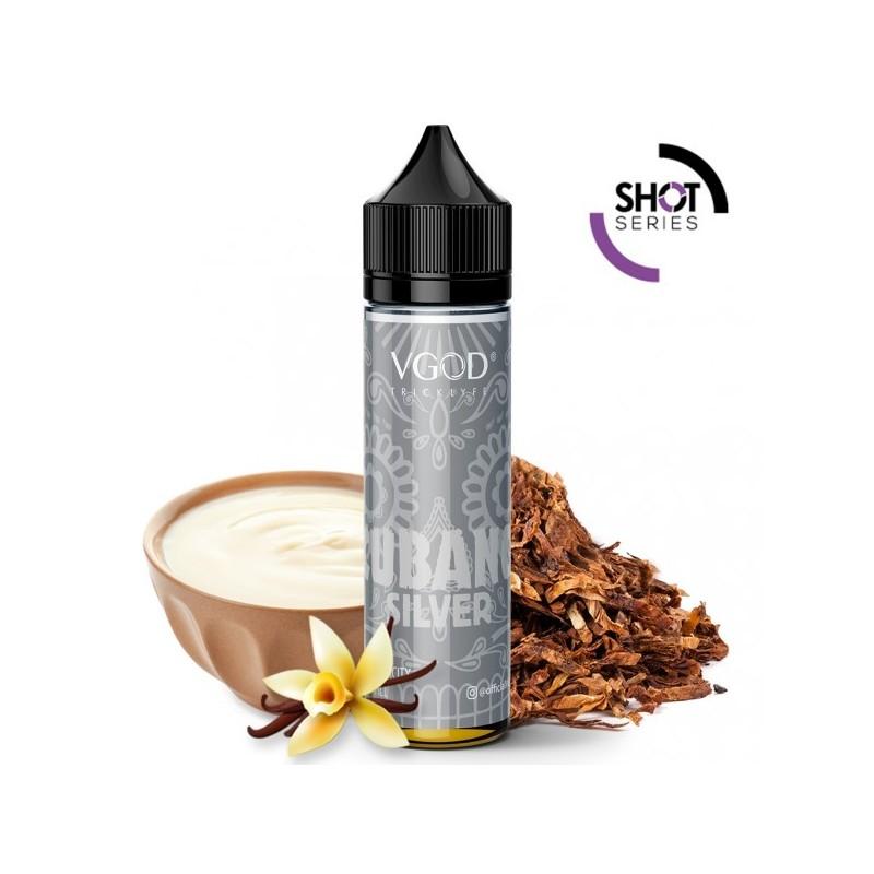 Cubano Silver Vape Shot VGOD nicotina a scelta 2rshop.it svapo