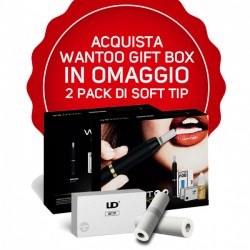 UD Youde - Wantoo Gift Box piu omaggio 2 pack da 10pz soft tip 2rshop.it svapo