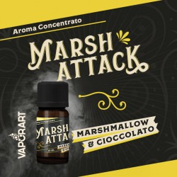 MARSH ATTACK premium blend 10ML VAPORART 2rshop.it svapo