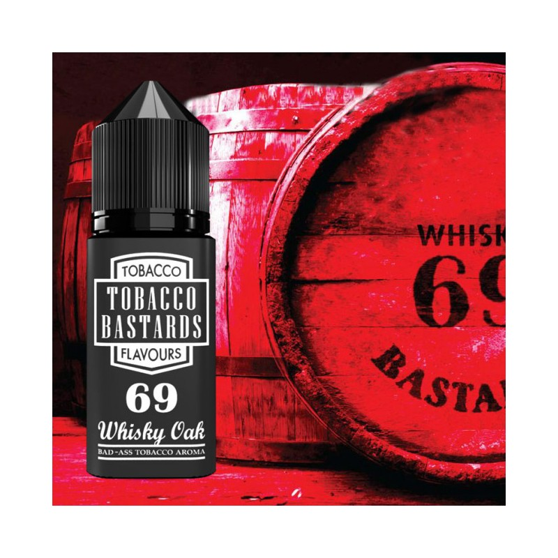 Tobacco Bastards Aroma 10ml - Whisky Oak N. 69 2rshop.it svapo