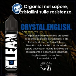 Azhad's Elixirs Crystal English Scomposto 20ml - Clean - nicotina a scelta 2rshop.it svapo