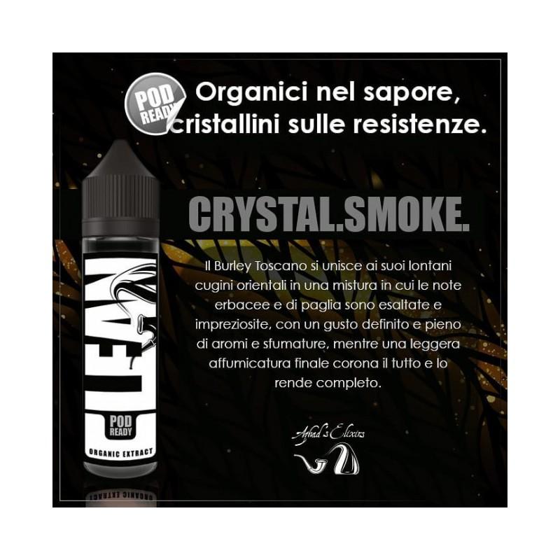 Azhad's Elixirs Crystal Smoke Scomposto 20ml - Clean - nicotina a scelta 2rshop.it svapo