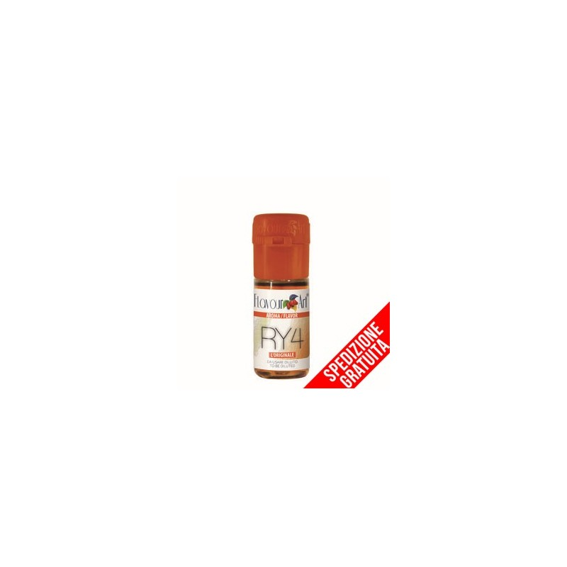 TABACCO RY4 - AROMA CONCENTRATO - FLAVOURART 10 ML 2rshop.it svapo