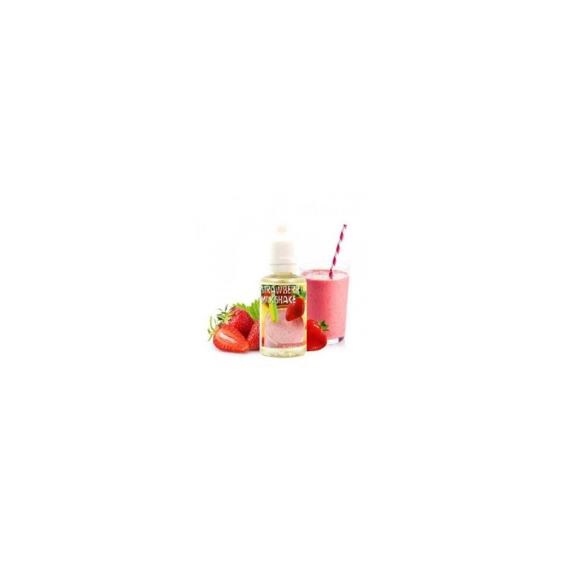 STRAWBERRY MILKSHAKE - AROMA CONCENTRATO - VAMPIRE VAPE 30 ML 2rshop.it svapo