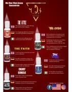 Kit Scomposti Shot series Mds Vaper's con nicotina a scelta